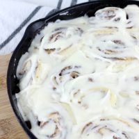 Quick & Easy No Rise Cinnamon Rolls