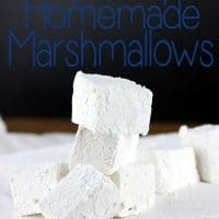 Very Simple Homemade Marshmallows
