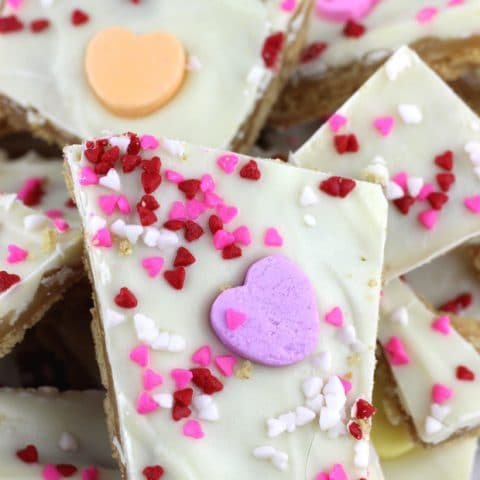 Valentine Graham Cracker Toffee
