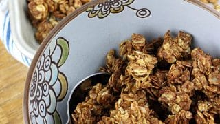 Simple Granola Recipe for Almond Butter Granola