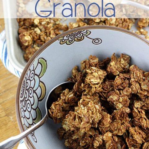 Simple Granola Recipe for Almond Butter Granola