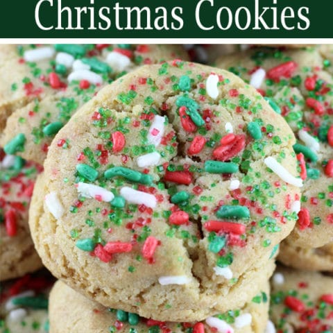 Brown Butter Christmas Cookies