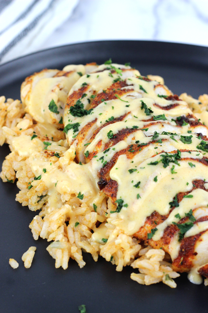 Mexican Chicken Rice And Cheese Recipe