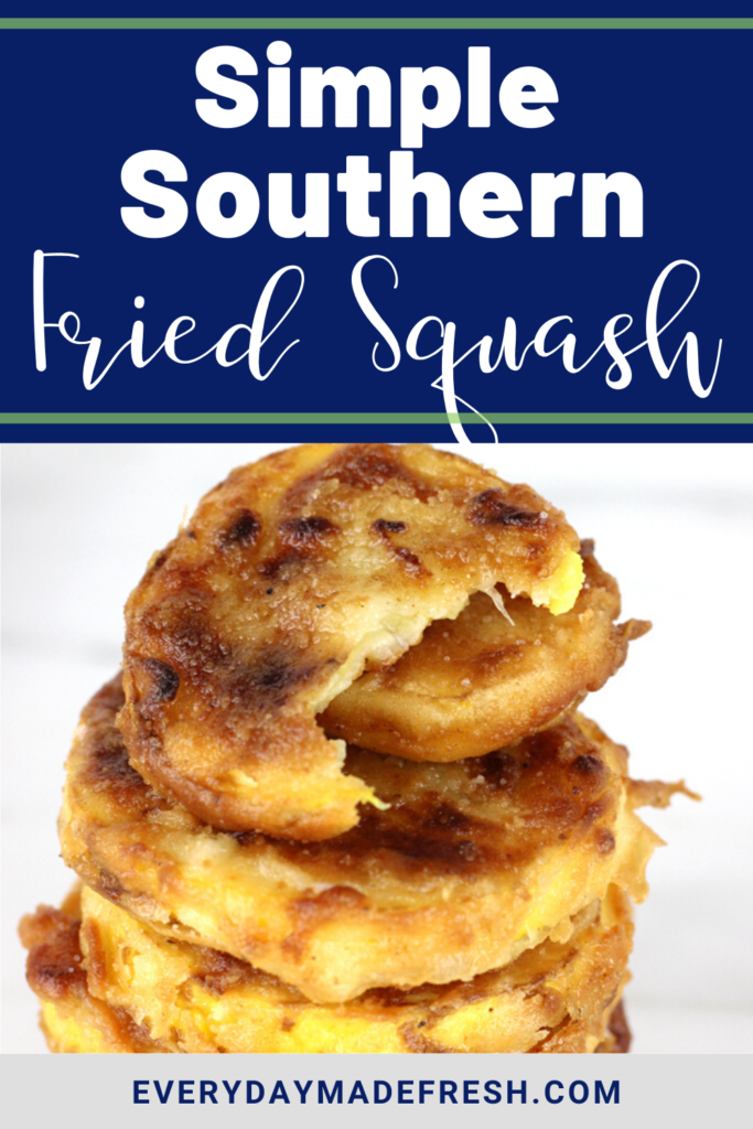 This Simple Southern Fried squash is a little like vegetable candy! So yummy, so perfect, and you can't eat just a few pieces. So hard to resist!