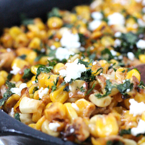 Easy Off the Cob Mexican Street Corn