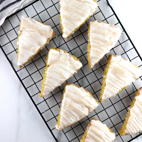 Easy Gluten Free Pumpkin Spice Scones - Starbucks Copycat Recipe