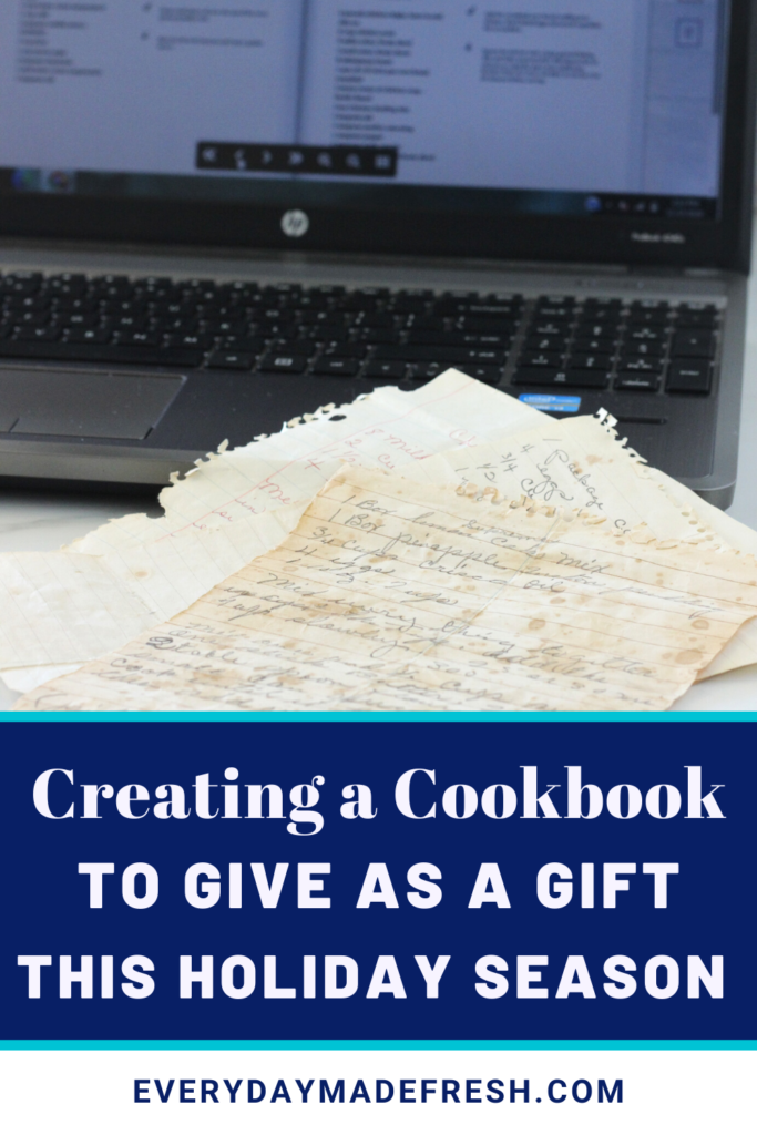 Creating a Cookbook to Give as a Gift this Holiday Season is the perfect way to start a family heirloom that will be cherished for generations. CreateMyCookbook makes it easier than ever!